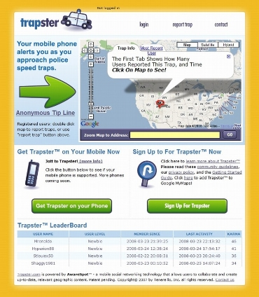 trapster 1 800